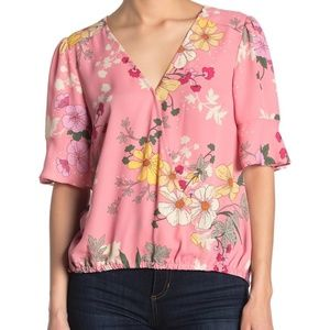 Sanctuary Garden Wrap Top